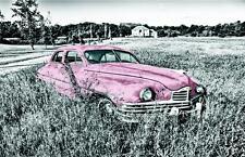 Blechschild 20 x 30 cm, Auto, Nostalgie, farbig