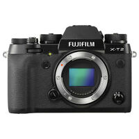 Fujifilm X-T2 Mirrorless 24.3MP 4K Fuji X T2 Digital Camera Body Black