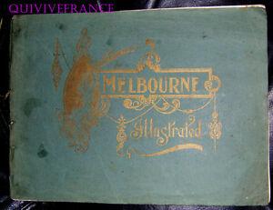 PB125 - Melbourne Illustrated 37 Views Australia
