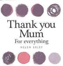 Thank you Mum (Helen Exley Giftbooks),Pam Brown,Very Good Book mon0000066673