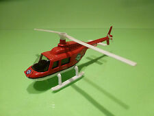 HELICOPTER BELL JETRANGER 206B - NORWEGIAN AIR AMBULANCE  - VERY GOOD CONDITION