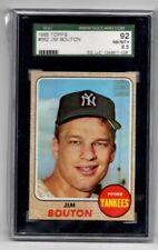 SGC 92 PSA 8.5 (NM-MT+) - 1968 Topps #562 - Jim Bouton - Nice Yankees Vintage!