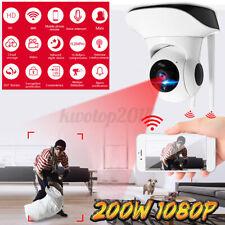 Us 200W Wifi 1080P Cctv Camera Ir Outdoor Security Surveillance Night Vision Abs