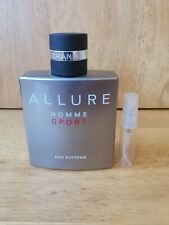 New listing Chanel allure homme sport eau extreme,5ml in glass atomiser