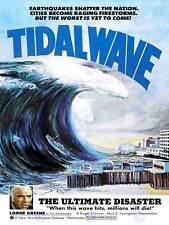 MOVIE FILM TIDAL WAVE ULTIMATE DISASTER LORNE GREEN USA ART POSTER PRINT CC6468