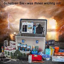 Krisenvorsorge Set, Notvorrat, Technik, Energie, Erste Hilfe, Wasser Komplettbox