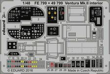 Eduard PE 49799 1/48 Lockheed Ventura Mk.II interior Revell