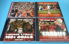Liverpool FC - 4 CD's - All Listed 1 still sealed, Super collection