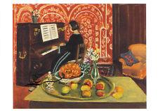 Kunstkarte / Postcard - Henri Matisse: Klavierspielerin und Stillleben