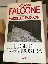 FALCONE, PADOVANI - COSE DI COSA NOSTRA - RIZZOLI - 1992