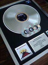 BOB MARLEY UPRISING LP MULTI PLATINUM DISC RECORD AWARD ALBUM