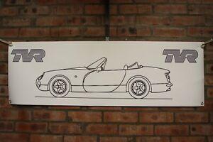 TVR Chimaera 1 large pvc banner  garage  work shop car show banner