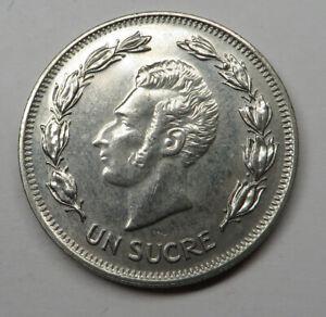 Ecuador Sucre 1986 Nickel Clad Steel KM#85.2 UNC