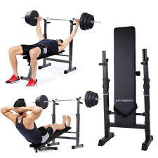 Adjustable Weight Bench Lifting Flat Incline Decline Home Gym Fitness Workout
