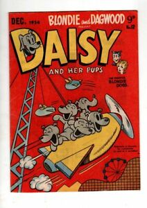 DAISY AND HER PUPS No 12  BY ASSOCIATED NEWSPAPERS   1954  V FINE