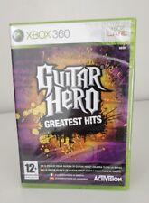GUITAR HERO GREATEST HITS MICROSOFT XBOX 360 X360 ITALIANO NUOVO SIGILLATO UNICO