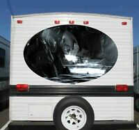 TRAILER RV GRAPHIC BOAT CAR FEMA DECALS Banshee