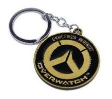 Overwatch-Gold Key Chain