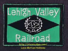 LMH Patch  LEHIGH VALLEY Railroad BLACK DIAMOND Coal Route LV Railway Steam Loco
