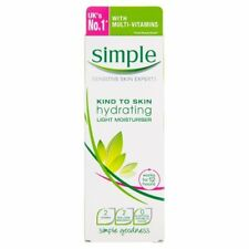 Simple Replenishing LIGHT Moisturiser Kind to Skin 125ml
