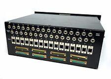 Mapp VBO 16 Channels L-com Cat6 Matrix Patch Panel DB25 with I/O Audio Jacks
