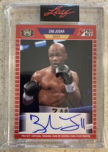 """""""SUPER"""" ZAB JUDAH ⭐️ 2021 Leaf AUTHENTIC AUTOGRAPH CARD!!! #PSA-ZJ1"""