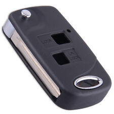 2 Button Flip Folding Key Fob Case Shell Replace Fit Toyota RAV4 Camry Corolla