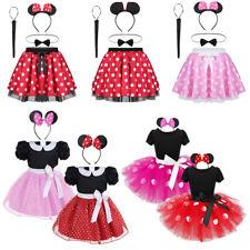 Toddler Girls Princess Dress Fancy Costume Kid Birthday Party Polka Dots Cosplay