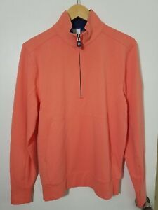 1 NWT B. DRADDY MEN'S SWEATER, SIZE: SMALL, COLOR: CORAL (J51)