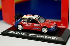 Norev 1/43 - Citroen Xsara WRC Rallye Monte Carlo 2005 Loeb