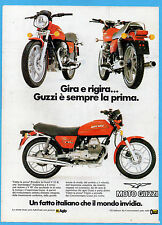 MOTOSPRINT982-PUBBLICITA'/ADVERTISING-1982- GUZZI V 35 II