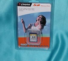 SanDisk SD/64 - SD64MB Secure Digital Memory Card New Factory Sealed Great Find!