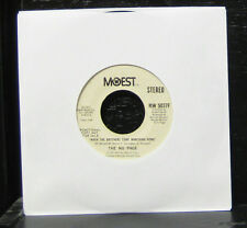 "The Nu Page - When The Brothers Come Marching Home VG+ 7"" Vinyl MoWest MW 5037F"