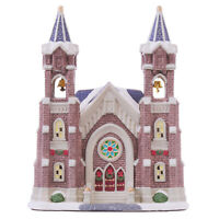 Holiday Time 2019 Village Cathedral Country Charm Collection Brand New