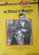 """IL COMMISSARIO MAIGRET """"Un natale di Maigret"""" DVD"""