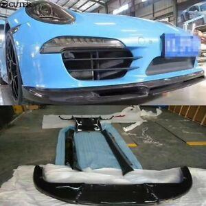 Porsche 911 exterior carbon fiber upgrades