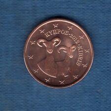 Chypre 2012 5 Centimes D'Euro SUP SPL Pièce neuve de rouleau - Cyprus