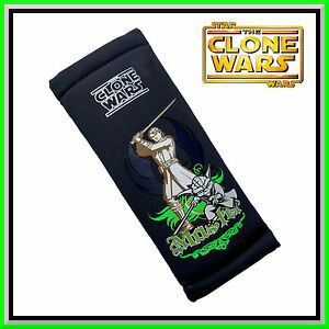 Genuine Disney Star Wars Clone Wars Safety Belt Pad Car Seat Belt Cover Kids
