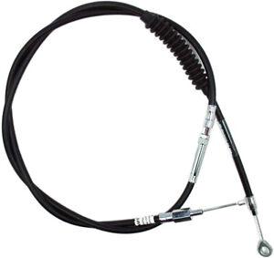 MOTION PRO BLACK VINYL CLUTCH LW CABLE Fits: Harley-Davidson FXDF Dyna 06-0377