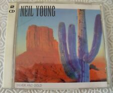 """NEIL YOUNG """"SILVER AND GOLD"""" DOUBLE CD LIVE TOWER PHILADELPHIA 1992 SWINGIN PIG"""