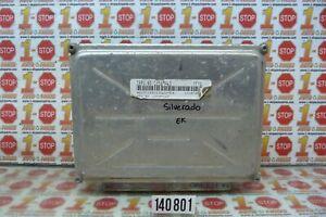 2003-2007 CHEVROLET SILVERADO ENGINE COMPUTER MODULE ECU ECM 12589463 YFYA OEM
