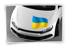 Ukraine Flagge Fahne Fußball Aufkleber Sport EM WM Auto Sticker Tattoo