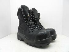 "Dunlop Men's 8"" DLNA16101 Composite Toe Composite Plate WP Safety Boot Black 12M"