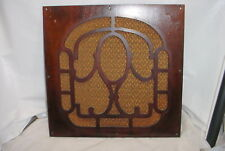 Brunswick Panatrope Model 31 Tube Radio Phonograph Front Wood Speaker Grill