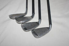 WILSON 3 and 4 irons PLUS 2 WILSON PW and WILSON PUTTER (SEE DESC)
