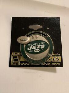 New York Jets Casino Poker Chip Pin - NFL Licensed Peter David J3