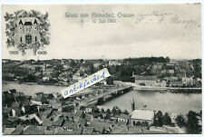 Postcard 1905: Home firmly in Crossen at or/Krosno Krosno