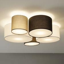 Trio Lighting Deckenlampe 'Hotel' Deckenleuchte Textil Modern Wohnzimmerleuchte'