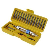 20pcs Multi-function Screwdriver High Speed Steel Bit Replacement Tools Kit set