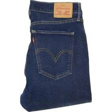 Levi's Mile Blue Skinny Slim Stretch Jeans High Waisted W31 L32 (46587)